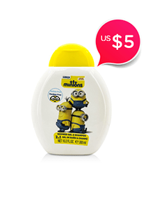 Minions 2 In 1 Shower Gel & Shampoo